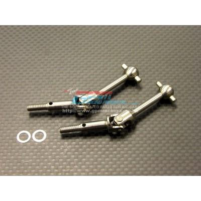 GPM Titanium Universal Shaft (33mm) for TT-01 (2 pcs)