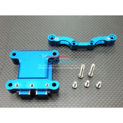 GPM Alloy Front Damper Plate w/ Gearbox for TT-01