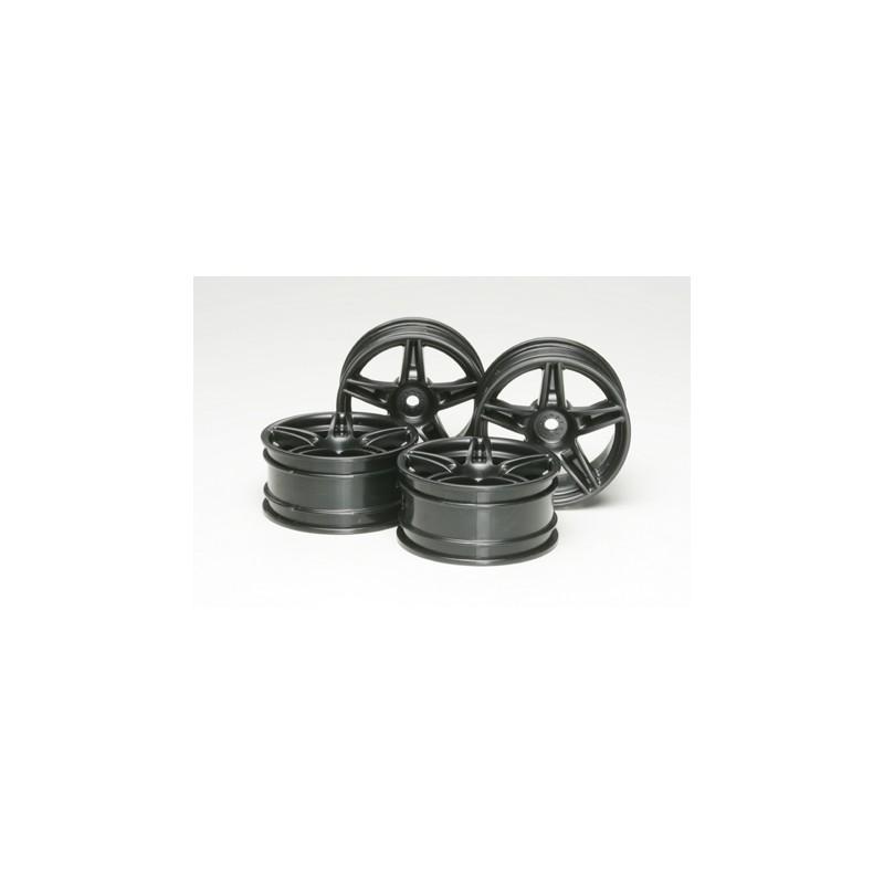 Tamiya Ferrari FXX Wheels (4 pcs) 26mm/+4