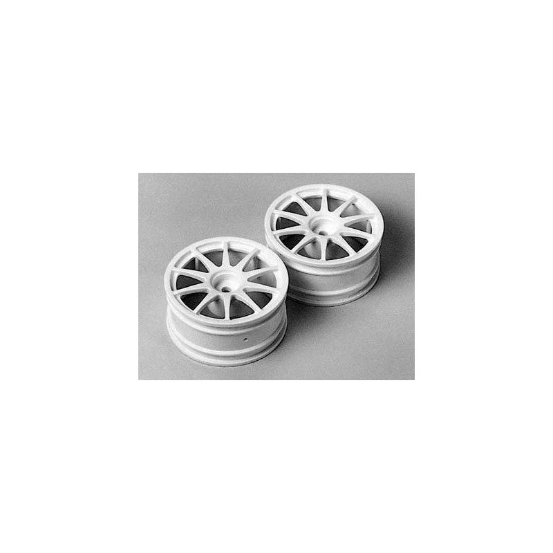 Tamiya Reinforced 10-Spoke Wheels (2 pcs) 26mm/+2