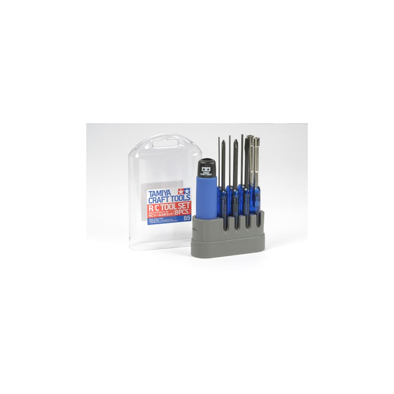 Tamiya RC Tool Set (8 pcs)
