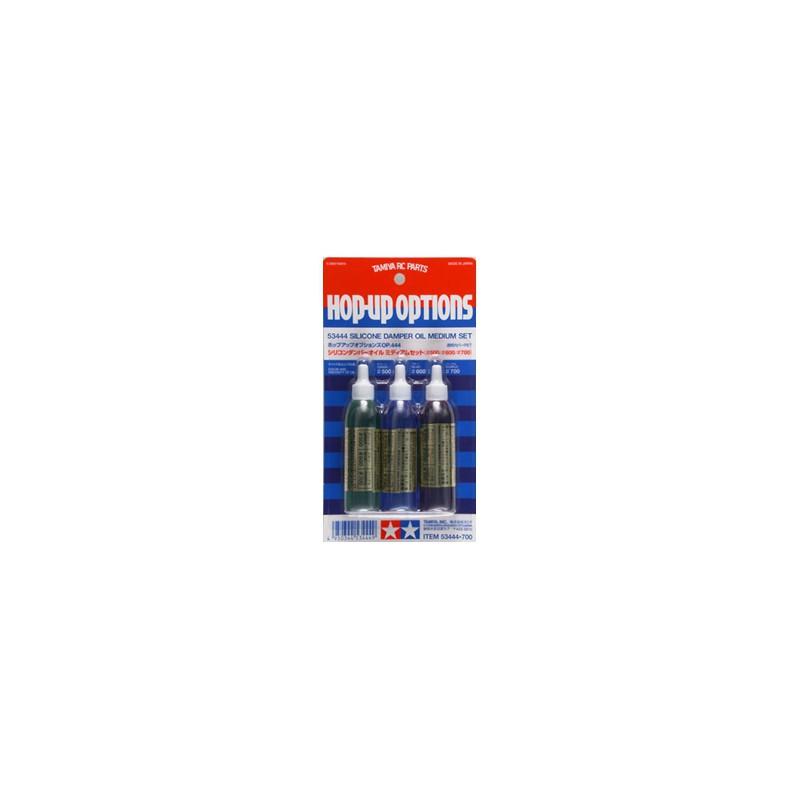 Tamiya Silicone Damper Oil - Medium Set (500, 600, 700)