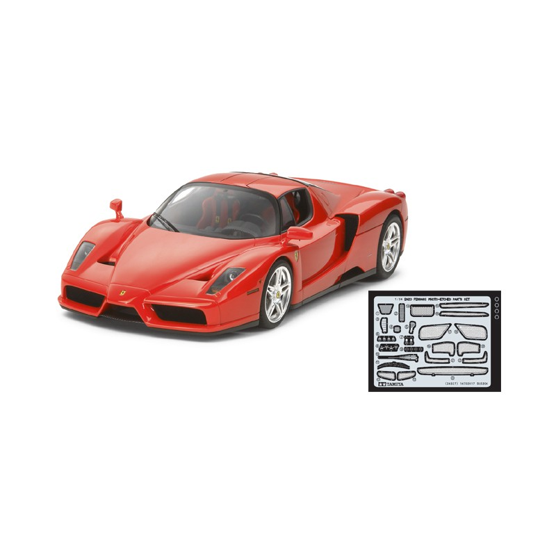 Tamiya 1/24 Enzo Ferrari (w/Detail Up Parts)
