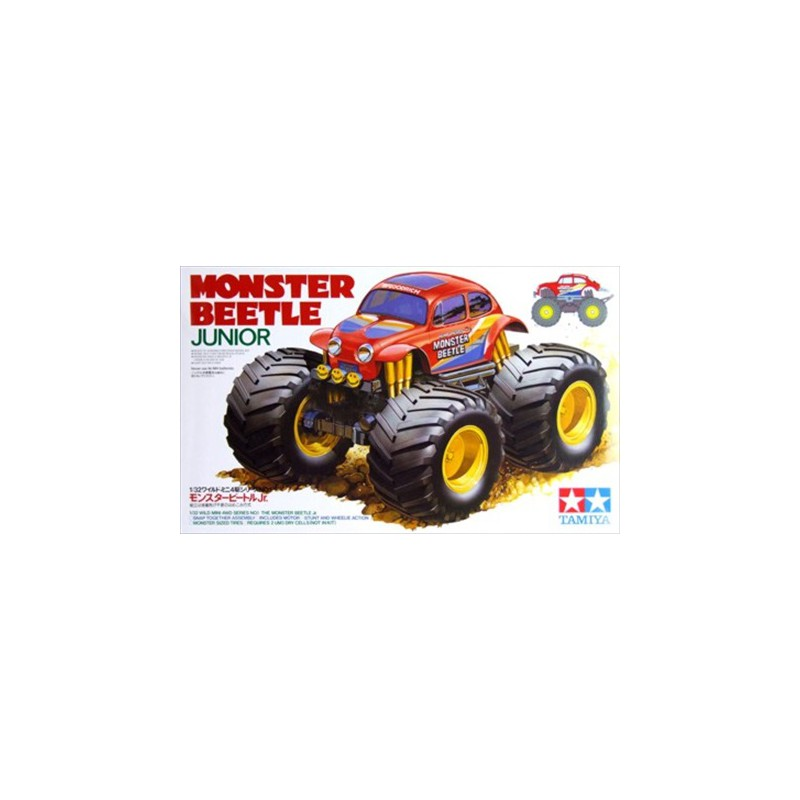 Tamiya 1/32 Mini 4WD Monster Beetle Jr.
