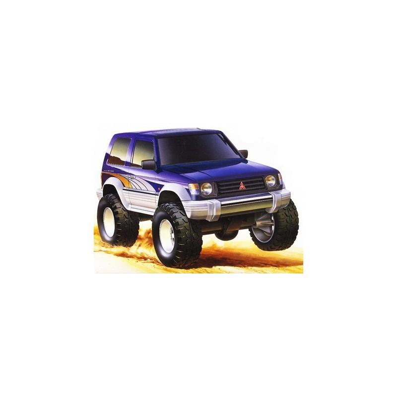 Tamiya 1/32 Mini 4WD Mitsubishi Pajero Metaltop Wide