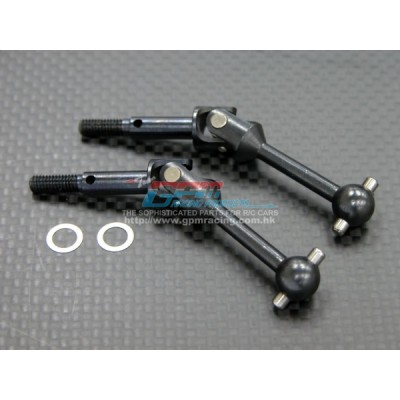 GPM Steel Universal Shaft (33mm) for TT-01 (2 pcs)