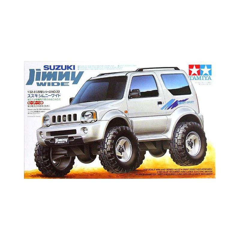 Tamiya 1/32 Mini 4WD Suzuki Jimny Wide