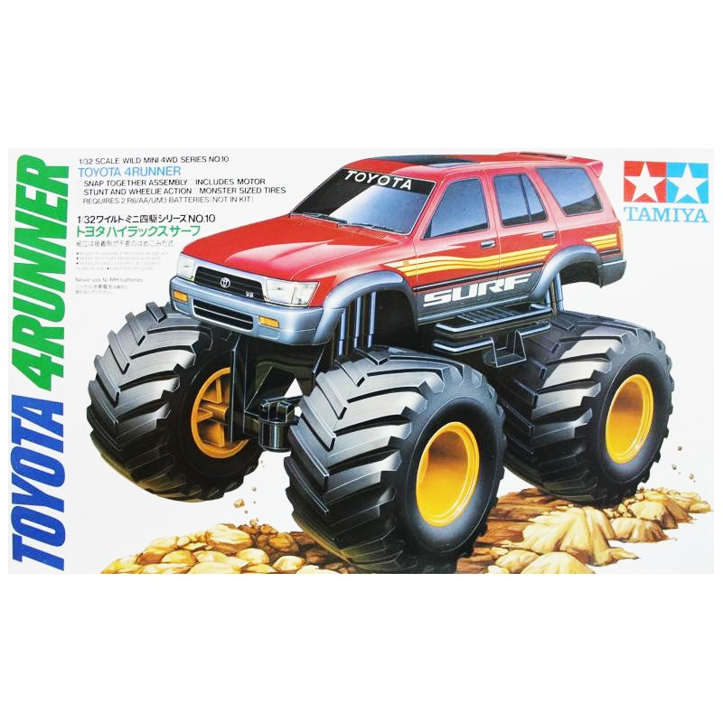 Tamiya 1/32 Mini 4WD Toyota 4Runner Junior