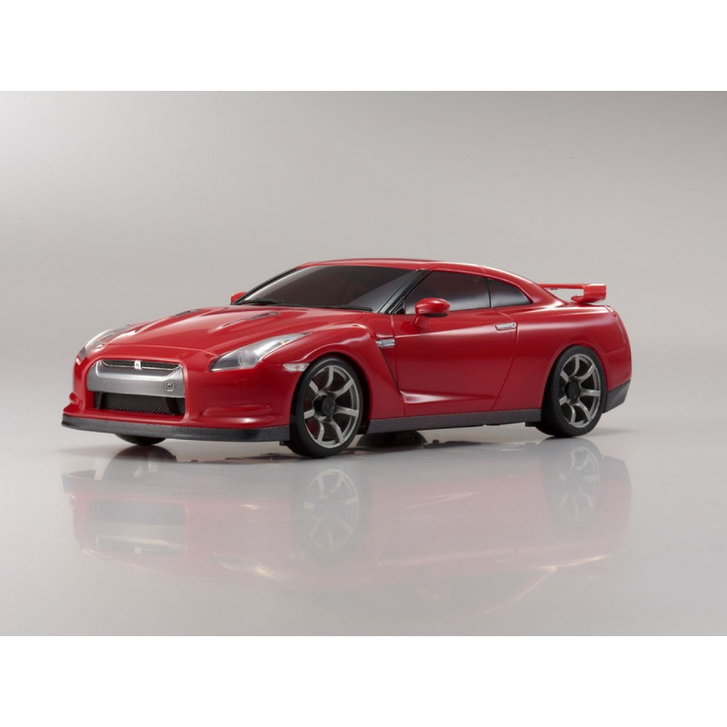 Kyosho ASC Nissan GT-R Body (Vibrant Red) for MA-010