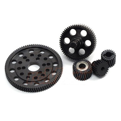Xtra Speed Steel Pineapple Gear Set for SCX10