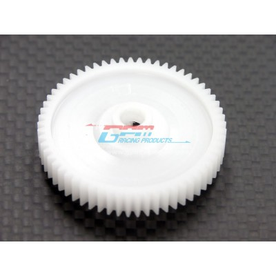 GPM Delrin Spur Gear 60T (1 pc) for TT-01