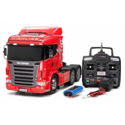 Tamiya Scania R620 6x4 Highline Full Operation Kit