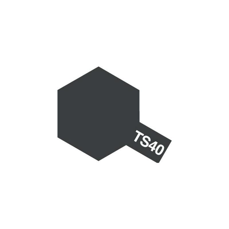 Tamiya Plastic Spray (Metallic Black) - TS-40