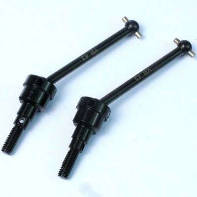 Yeah Racing Steel Front Universal Shaft for CC-01 (2 pcs)