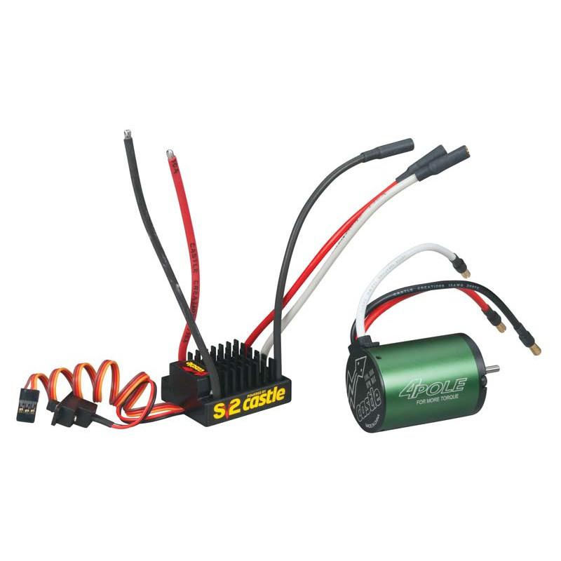 Castle Creations 1/10 SV3 Sidewinder WP 4600kV System
