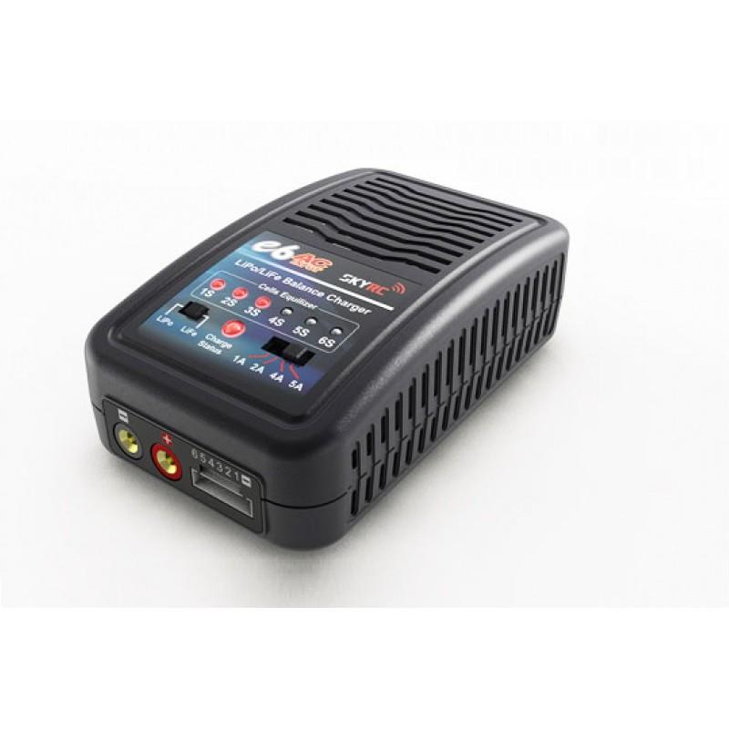 SkyRC E6 LiPo/LiFe Charger w/ TRX Plug