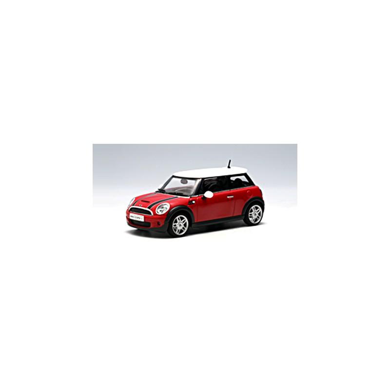 Autoart 1:43 Mini Cooper S 2006 (Chili Red/White Roof)