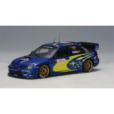 Autoart 1:43 Subaru Impreza WRC 2007 P.Solberg (Rally Monte Carlo)