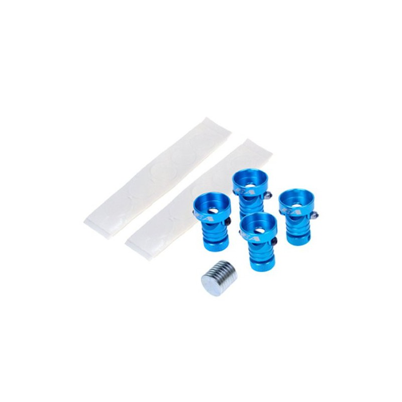 Eagle Racing SP Magnet Stealth Body Mount (Light Blue, Type 3)