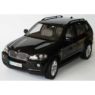 Kyosho 1:18 BMW X5 3.0d (E70, Black Met) Dealerbox