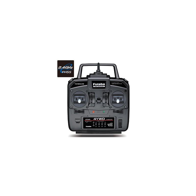 Futaba 4YWD 4-Channel 2.4GHz FHSS Radio