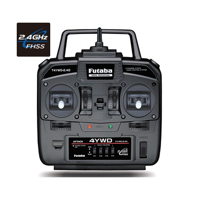 Futaba 4YWD 4-Channel 2.4GHz FHSS Radio