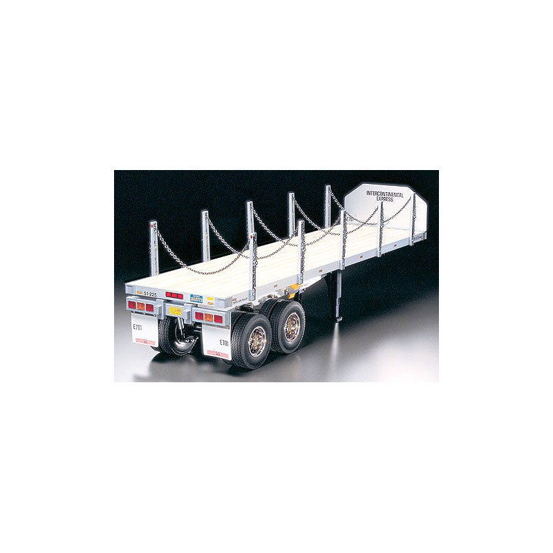 Tamiya Flatbed Semi-Trailer for Tractor Truck