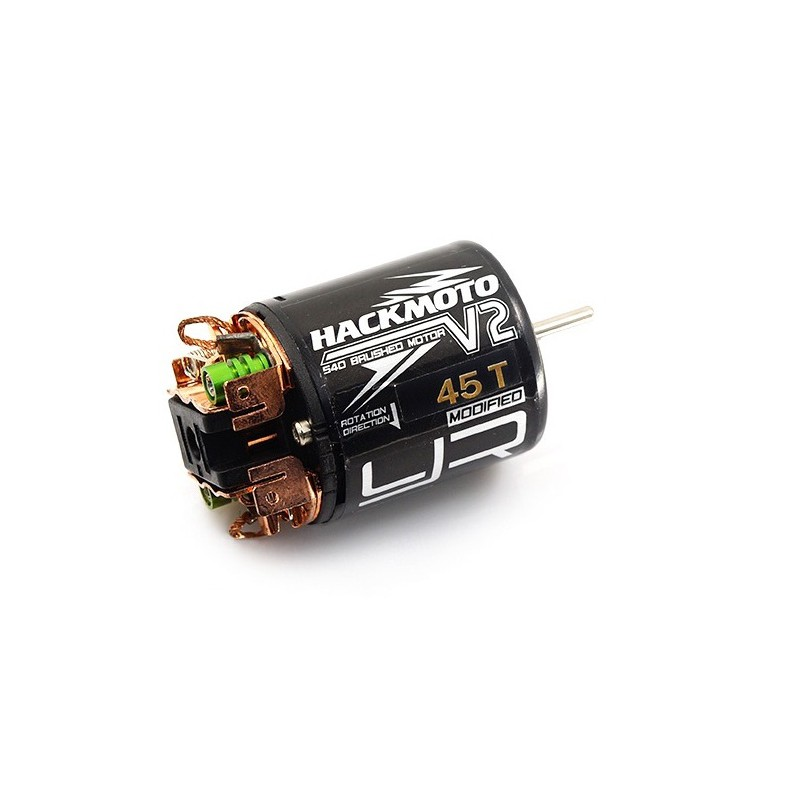 Yeah Racing Hackmoto V2 45T 540 Brushed Motor