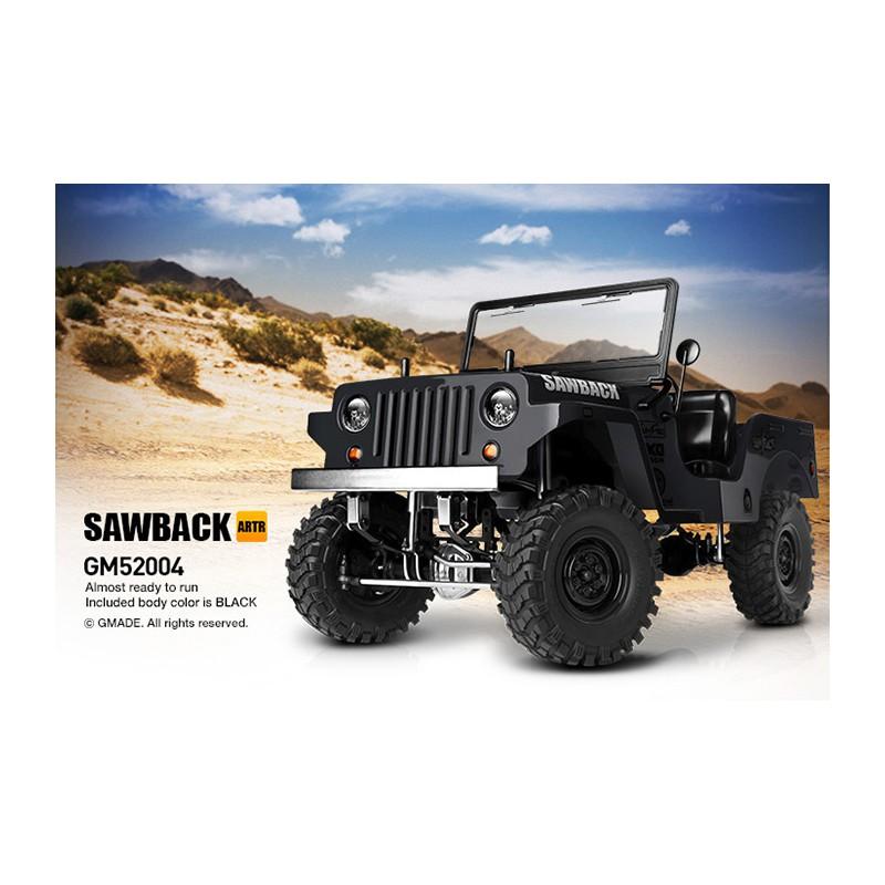GMade GS01 Sawback 4WD ARTR (Black)