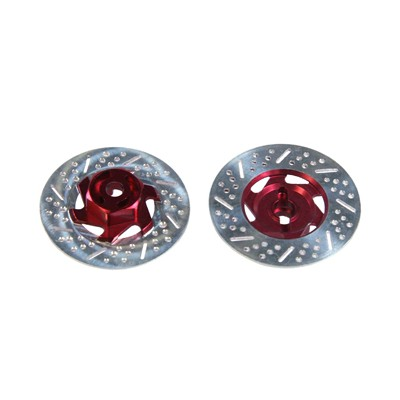Eagle Racing Brake Disk 34mm Adaptor (Red, 2 pcs)