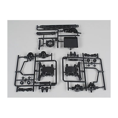 Tamiya A-parts for TT-01 (Upright, Diff Case)
