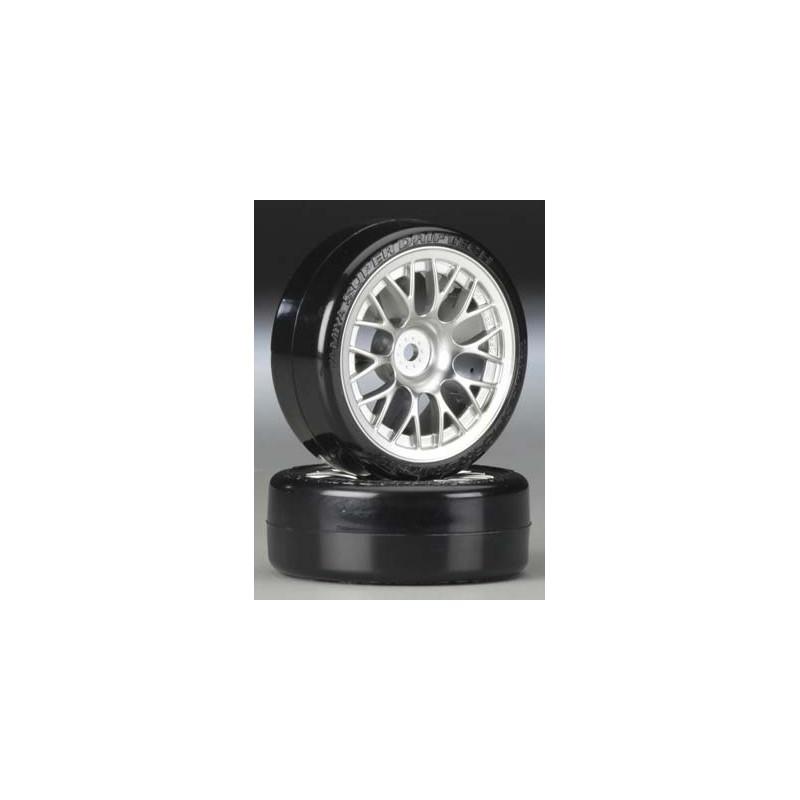 Tamiya Mesh Wheels (Chrome, 4 pcs) 24mm/+2 - Bulk
