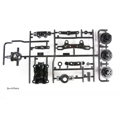 Tamiya A-parts for TT-02 (Upright, Diff Case)