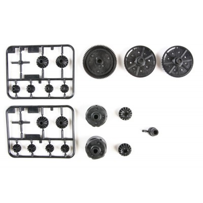 Tamiya G-Parts for TT-02 (Gear, Diff Case)