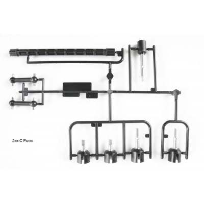 Tamiya C-parts for TT-02 (Cup Joint)