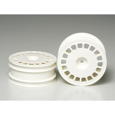 Tamiya Large Dish Wheels (Front, 2 pcs) 62/25mm