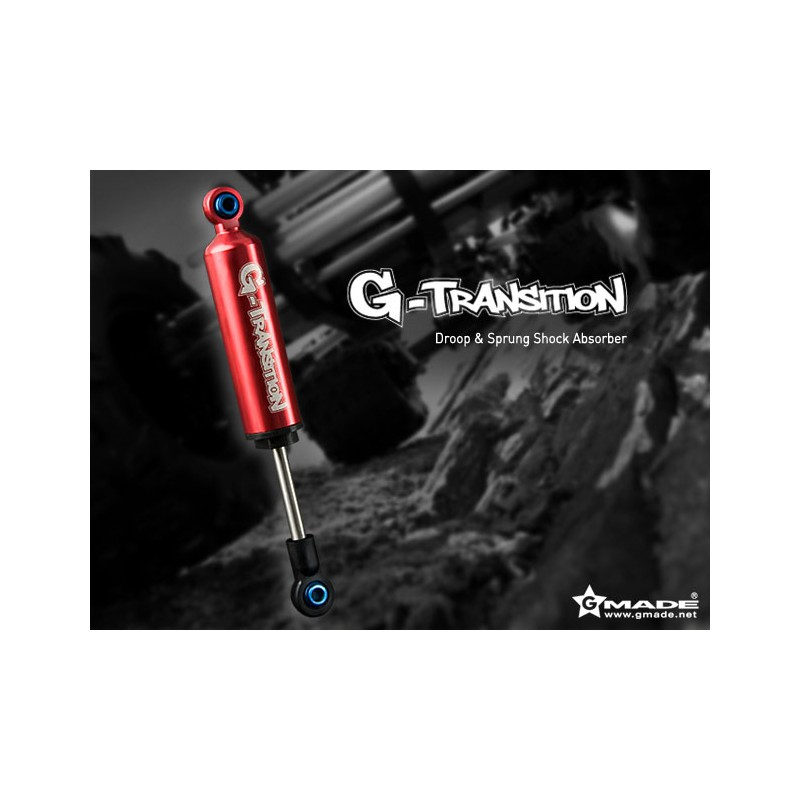 Gmade G-Transition Shocks 90mm (Red, 4 pcs)