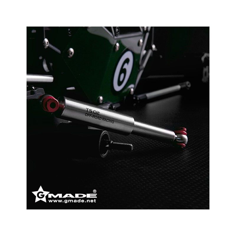 Gmade TS02 Scale Shocks 90mm (Silver, 4 pcs)