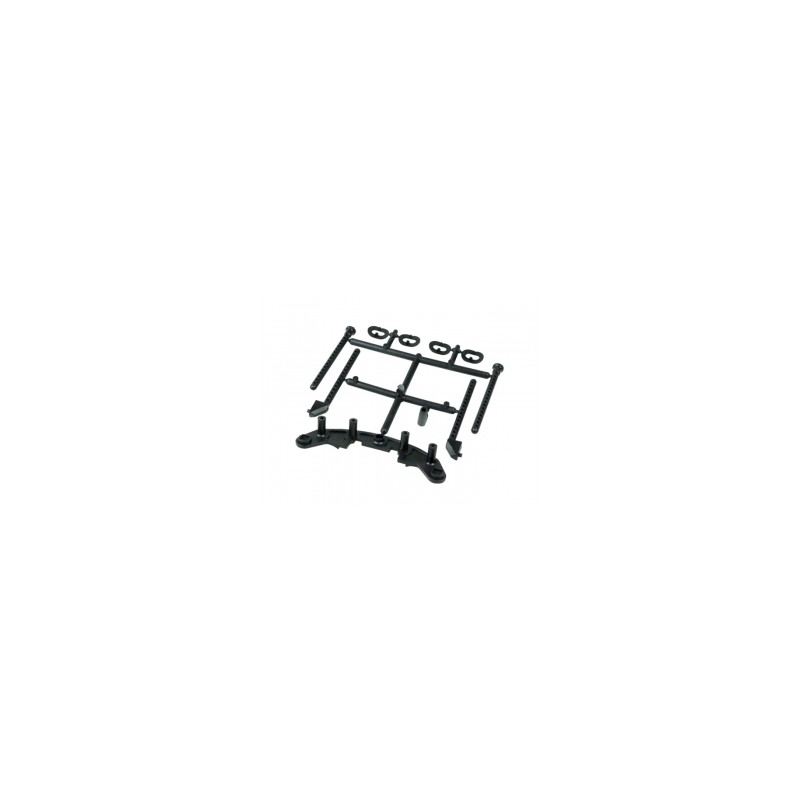 3Racing Body Post & Bumper for Sakura FF/D3