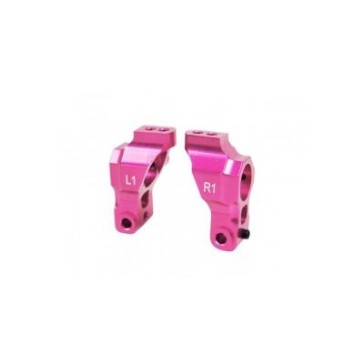 3Racing Aluminum Rear Hub (1 Degree) for Sakura D3