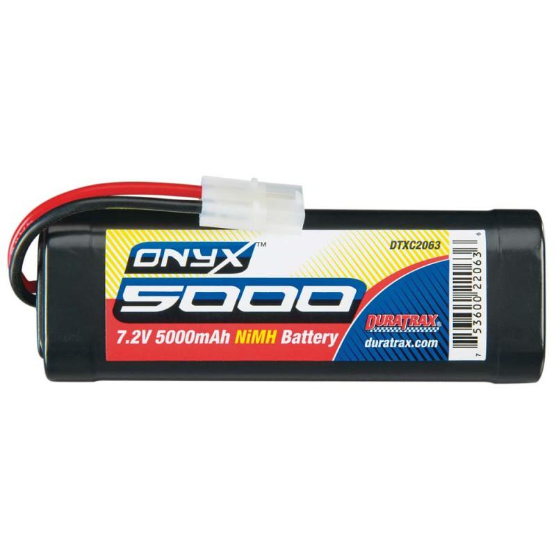 Duratrax Onyx 6-Cell 7.2V 5000mAh Stick Pack w/ Tamiya Plug