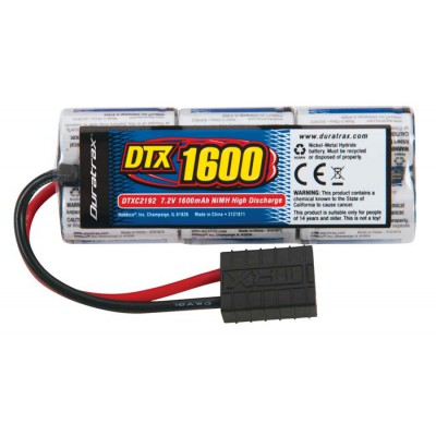 Duratrax NiMH 7.2V 1600mAh Stick Pack w/ Traxxas Plug