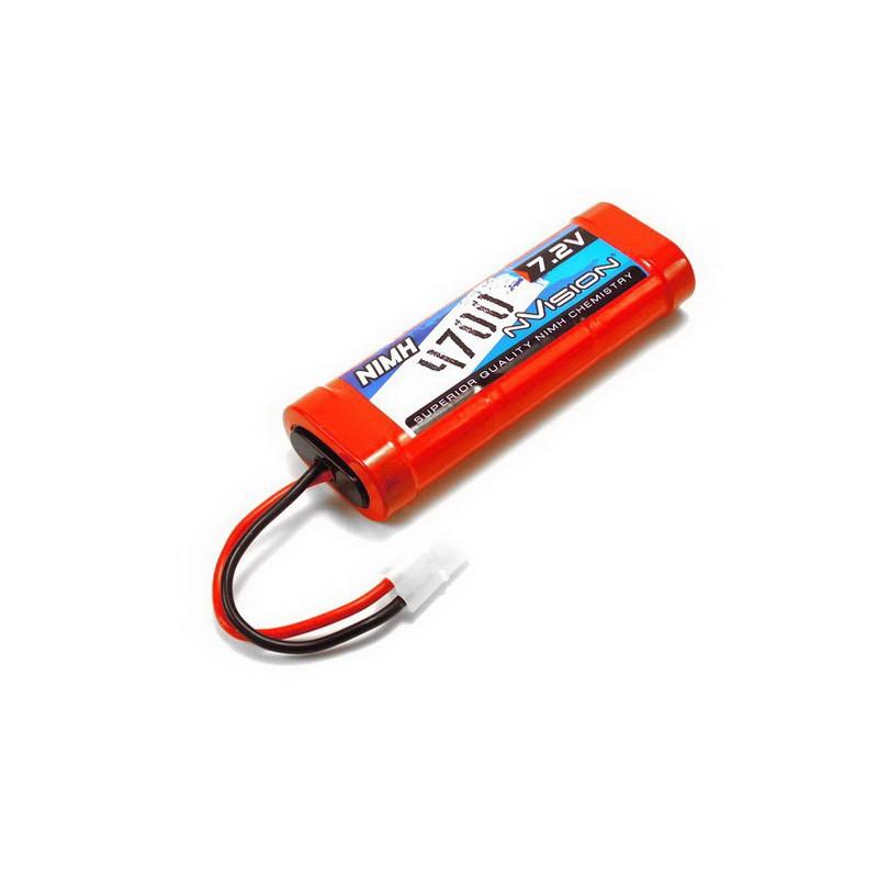 nVision 7.2V (6-Cell) 4700mAh NiMH Stick Pack w/ Tamiya Plug