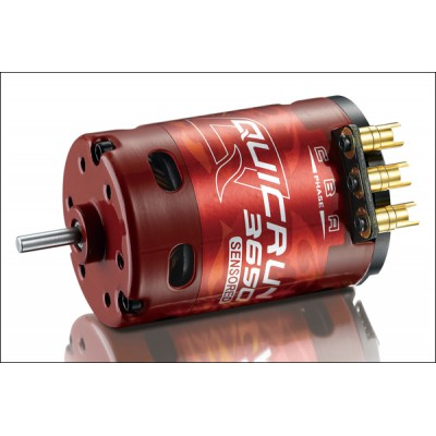 HobbyWing QuicRun 3650 Sensored Brushless Motor (10.5T, 3450kV)