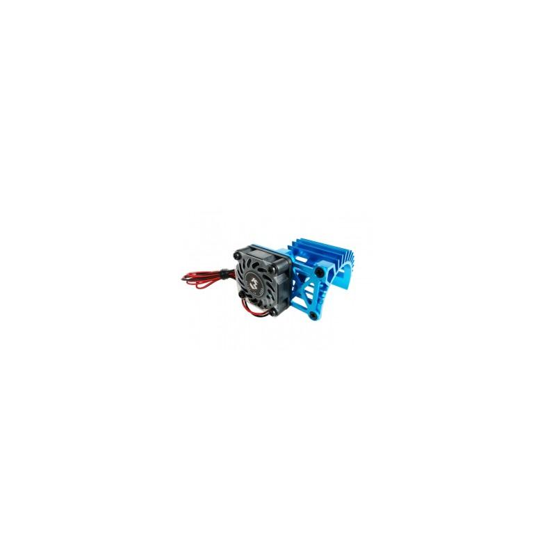 3Racing Aluminum Extended Motor Heat Sink w/ Fan Ver. 2 for 540 Motor (Fan-Shaped)