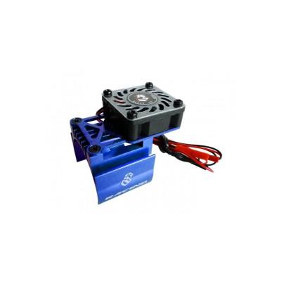 3Racing Aluminum Extended Motor Heat Sink w/ Fan Ver. 2 for 540 Motor (High Finger)