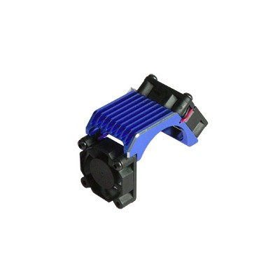 3Racing Aluminum Motor Heat Sink w/ Twin Fan for Brushless Motor