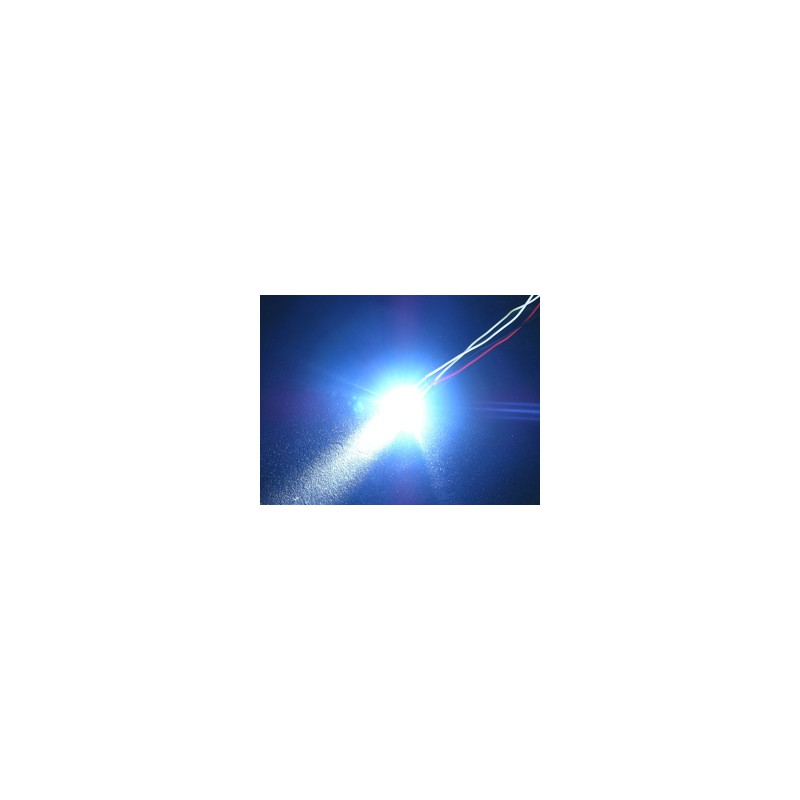 3Racing Flash LED Light - 5mm, Blue