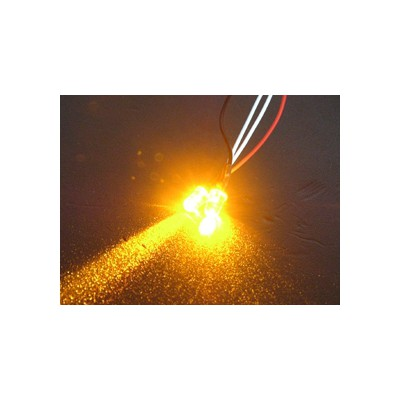 3Racing Normal LED Light - 3mm, Orange