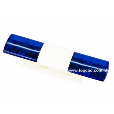Topcad Roof Emergency Vehicle Light Bar (Blue)